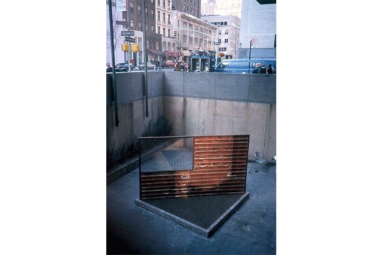 Stripes-and-Fence,-Homage-to-Jasper-johnes.-Whitney-Museum.-jpg